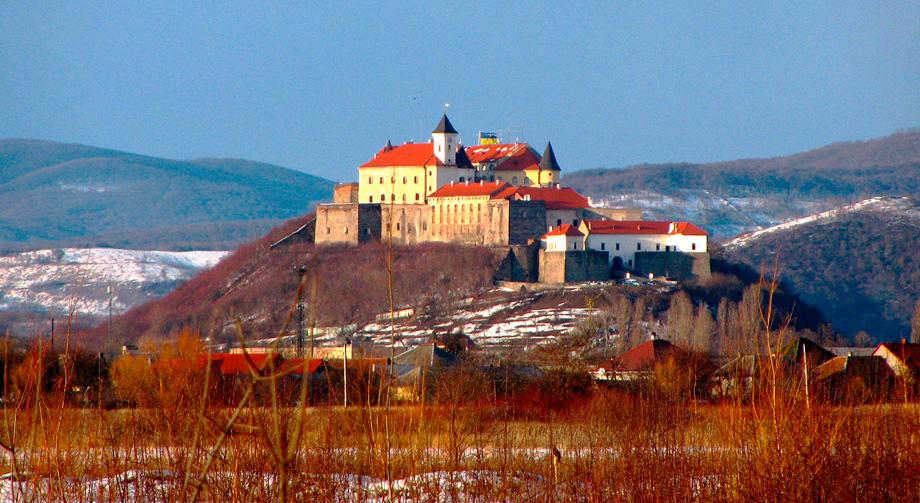 Замок Паланок в Мукачеве