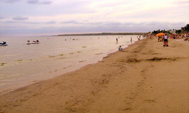 Пляж у Коблеве