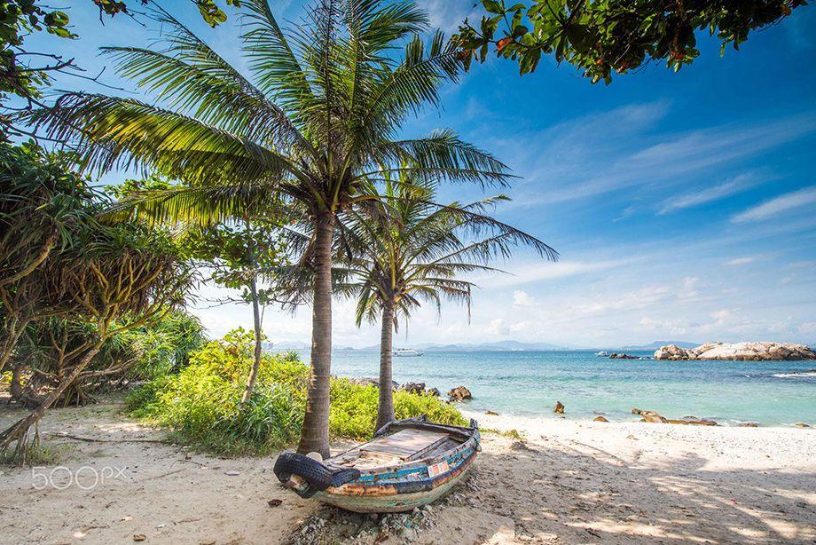 Пляж на Хайнані