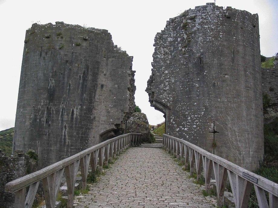 Англійський замок Корф