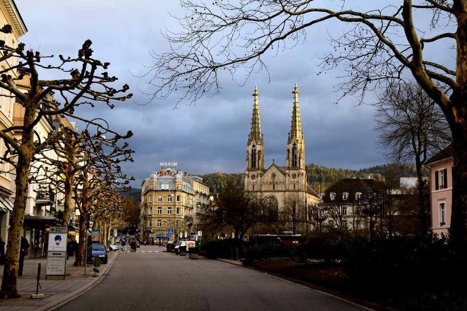 Історичне місто Баден-Баден у Німеччині