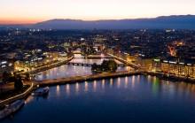 Фантастичне місто Женева у Швейцарії